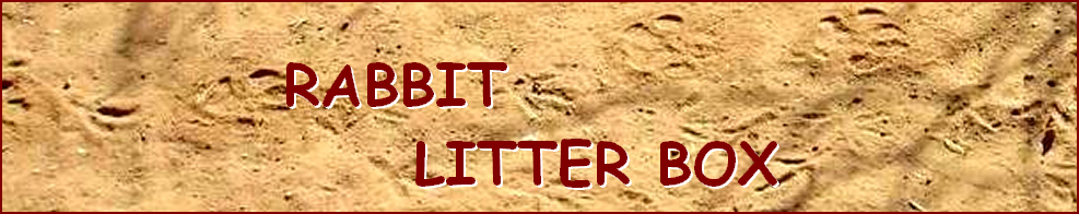 RABBIT  LITTER BOX
